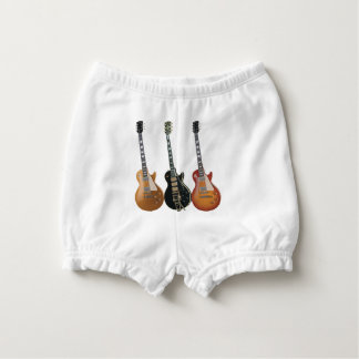 3 ELECTRIC GUITARS NAPPY COVER