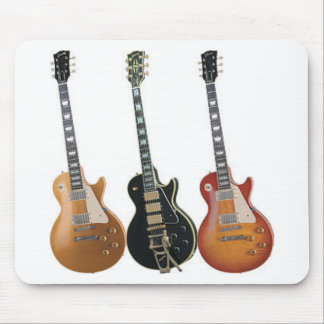 3 ELECTRIC GUITARS RETRO MOUSE PAD