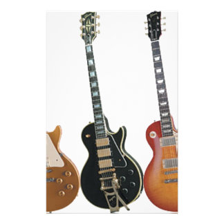 3 ELECTRIC GUITARS RETRO STATIONERY