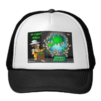3 export dollars hat