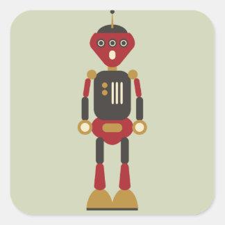 3-Eyed Robot Sticker