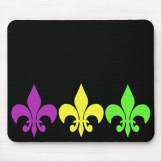 3 Fleur De Lis Mouse Pad