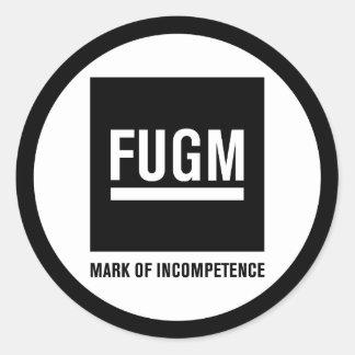 """3"""" FUGM by SAB Sticker"""