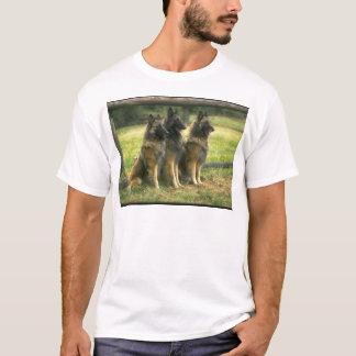 3-German Shepherds T-Shirt