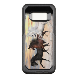 3 Horses Commuter Series Case, Pick Phone Style OtterBox Commuter Samsung Galaxy S8 Case