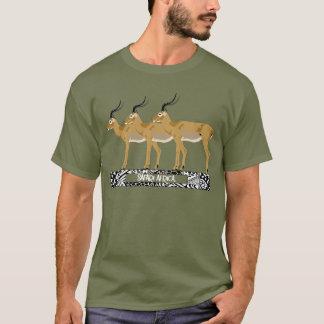 3 Impalas Safari Africa Tshirt
