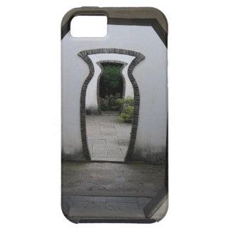 3 Jar Shaped Door Optical Illusion iPhone 5 Cover