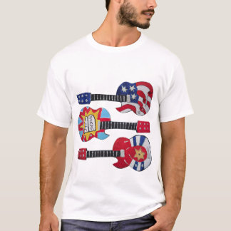 3 Judaica Guitar Decorations T-Shirt