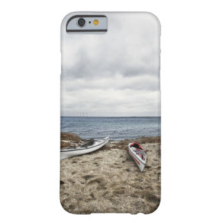 3 kayaks on beach barely there iPhone 6 case