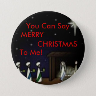 3 Kings, You Can Say, MERRY, CHRISTMAS, To Me! 7.5 Cm Round Badge