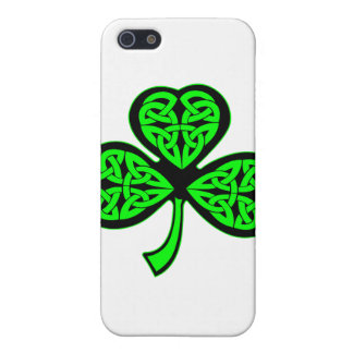 3 Leaf Celtic Shamrock iPhone 5/5S Covers