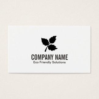 3 Leaf   Eco Friendly 2 Business Card