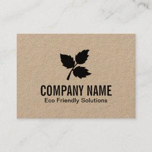 Eco friendly business cards zazzle au 3 leaf eco friendly 2 business card reheart Image collections