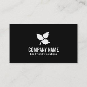 Eco friendly business cards zazzle au 3 leaf eco friendly business card reheart Image collections