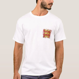 3 lions with torn effect T-Shirt