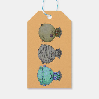 3 Little Monsters Gift Tags