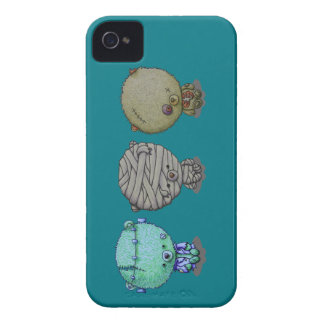 3 Little Monsters iPhone 4 Case-Mate Case