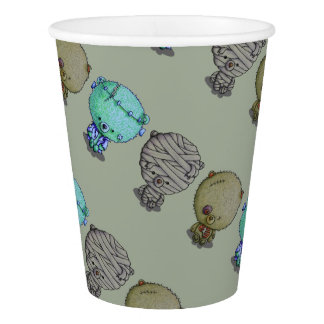 3 Little Monsters Paper Cup
