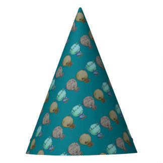 3 Little Monsters Party Hat