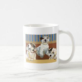 3 Little Sealyhams Coffee Mug