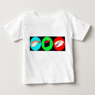 3 little Sushies Baby T-Shirt