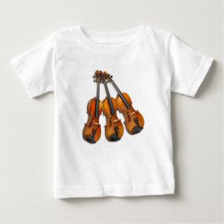 3 MUSICAL VIOLINS BABY T-Shirt