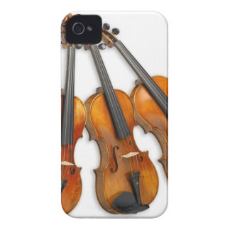 3 MUSICAL VIOLINS iPhone 4 CASE