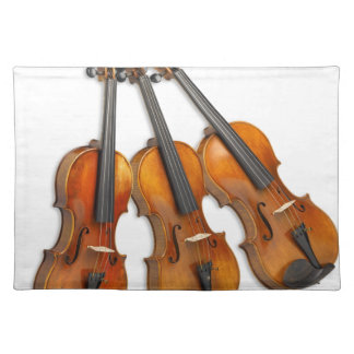 3 MUSICAL VIOLINS PLACEMAT