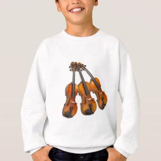 3 MUSICAL VIOLINS SWEATSHIRT