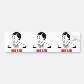 3 Not Bad - Michelle Obama Bumper Sticker