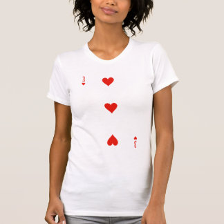 3 of Hearts From Tees