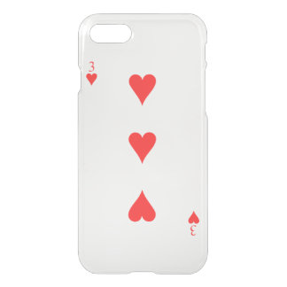 3 of Hearts iPhone 7 Case