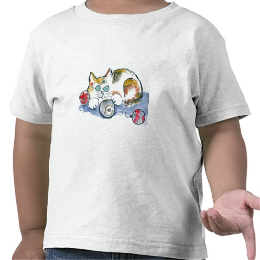 3 Ornaments & Calico Kitty T Shirts