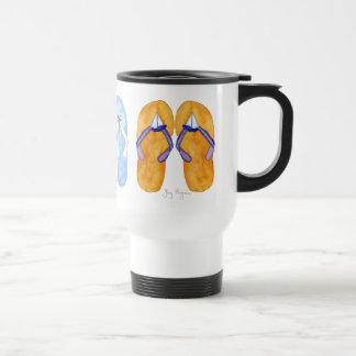 3 Pairs of Flip-Flops Mugs & Drinkware