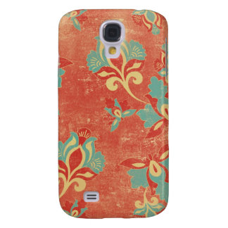 3 - Pern Vintage Floral Samsung Galaxy S4 Covers