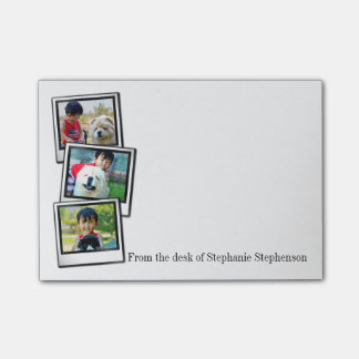 3-Photo instant frame personalized photo Post-it Notes