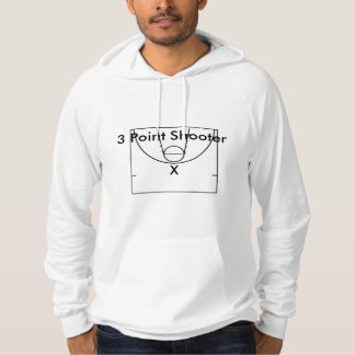 3 Point Shooter Hoodie