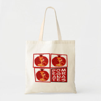 3 Pomegranate fruits Tote Bag