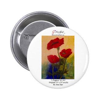 3 Poppies Pin