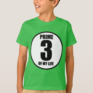 3 - prime of my life T-Shirt