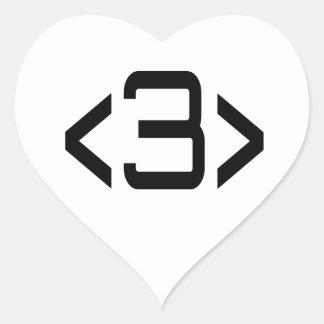 <3> Reciprocated Love - Internet Meme Heart Heart Sticker