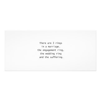 3 Rings Personalized Rack Card