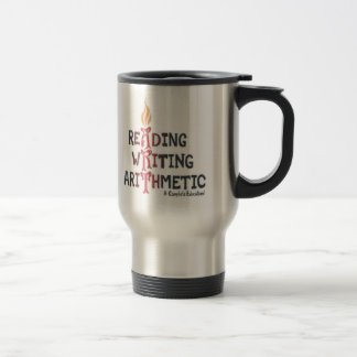 3 R's Gets An A Stainless Steel Travel Mug