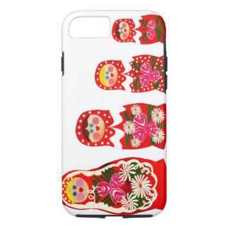 3 Russian Dolls BABUSHKA iPhone 8/7 Case