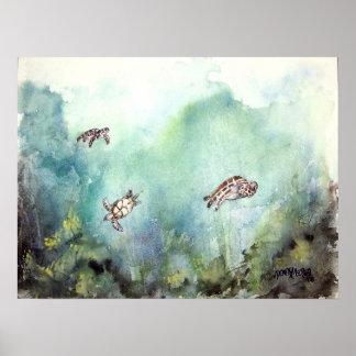 3_sea_turtles_painting