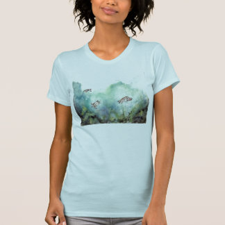 3_sea_turtles_painting T-Shirt