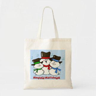 3 Singing Snowmen Bags