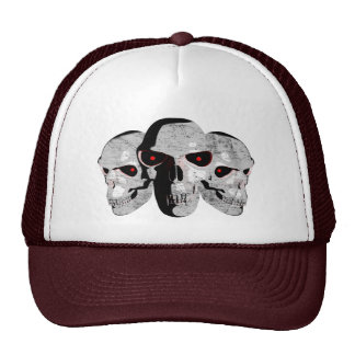 3 Skulls Cap