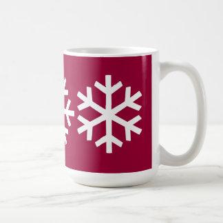 3 Snowflake Mug
