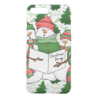 3 Snowman Carolers iPhone 8 Plus/7 Plus Case